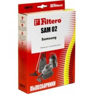Пылесборники Filtero SAM 02 Комфорт 4 шт