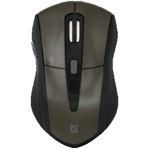 Мышь Defender Accura MM-965, коричневый