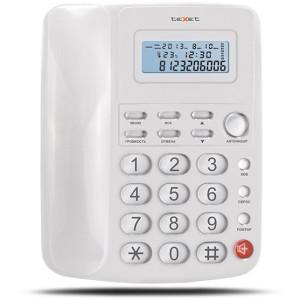 Проводной телефон teXet TX-250 белый