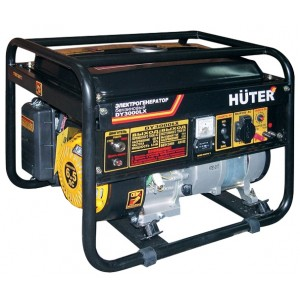 Генератор бензиновый Huter DY3000LX, 220, 2.5кВт