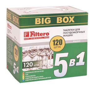 Таблетки для ПММ Filtero 5 в 1 BIGBOX 120 шт