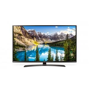 Телевизор LG 43UJ634V, черный