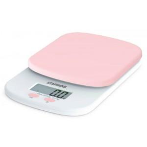 Кухонные весы StarWind SSK2157, розовый