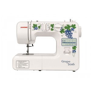 Швейная машина Janome Grape 2016, белый